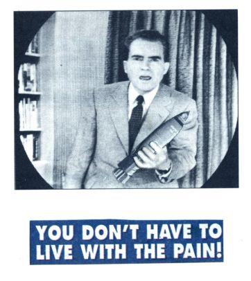 25f Nixon With Bomb